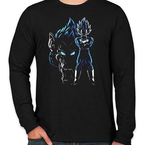 Dragonball: Vegeta Primal Long Sleeve T-Shirt
