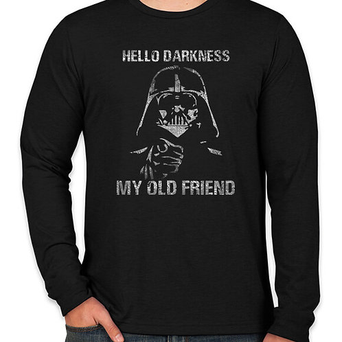 Star Wars Hello Darkness Long Sleeve Long Sleeve T-Shirt