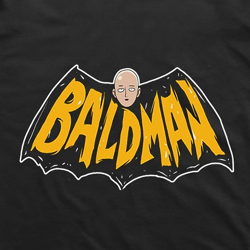 One Punch Man: Bald Man T-Shirt