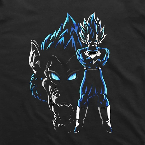 Dragonball: Vegeta Primal T-Shirt