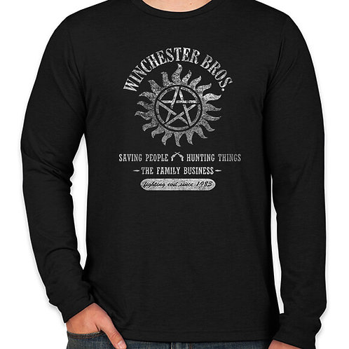Supernatural: Winchester Brothers Long Sleeve Long Sleeve T-Shirt