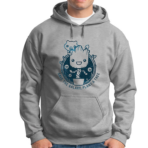 Save the Galaxy: Plant a Tree Hoodie