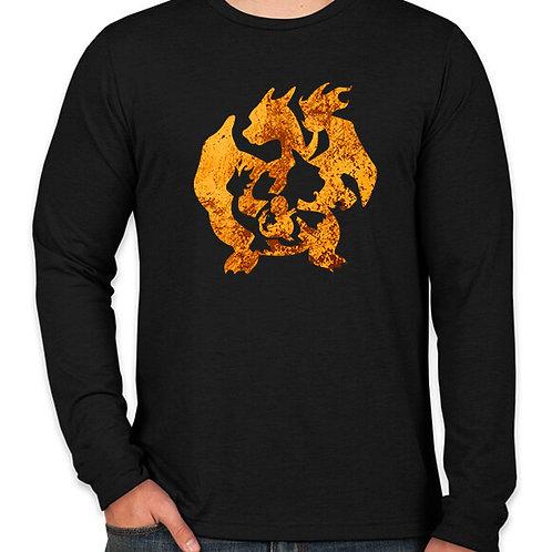 Pokemon: Charmander and Charizard Long Sleeve T-Shirt