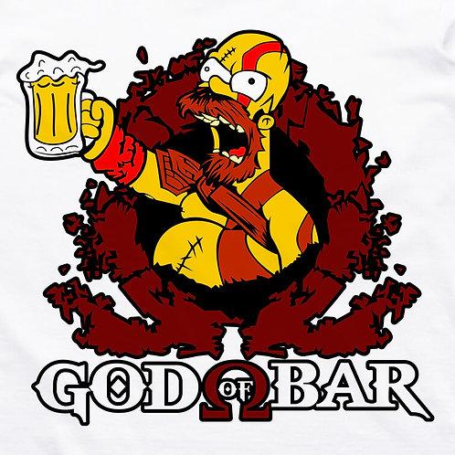 Simpsons: God of Bar Short Sleeve T-Shirt