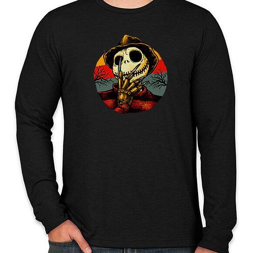 Freddy Skellington  Long Sleeved T-Shirt