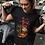 Thumbnail: Buds: Abstract Cat Short Sleeve T-Shirt