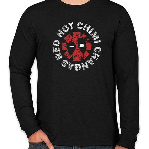 Deadpool: Red Hot Long Sleeve Long Sleeve T-Shirt