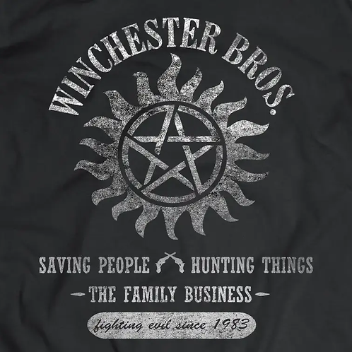 Supernatural: Winchester Brothers Short Sleeve T-Shirt