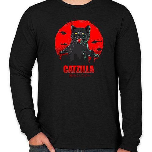 Catzilla Long Sleeve T-Shirt