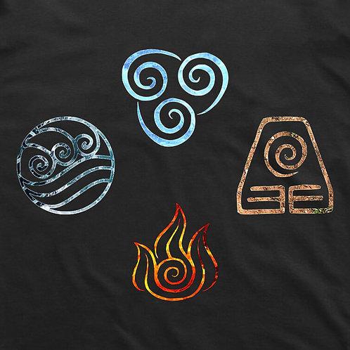 Avatar: Vintage Elements Short Sleeved T-Shirt