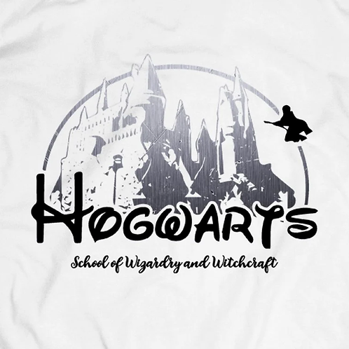 Hogwarts T-Shirt: School of Wizardy and Witchcraft