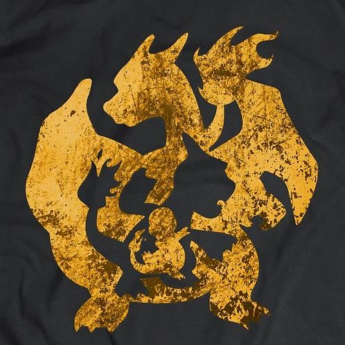 Pokemon: Charmander and Charizard Short Sleeve T-Shirt
