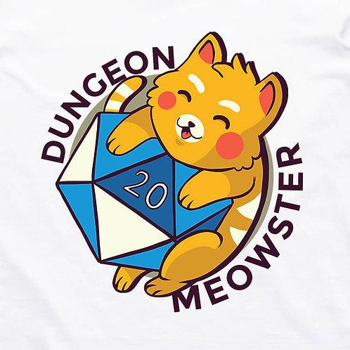 Dungeon Meowster Short Sleeve T-Shirt