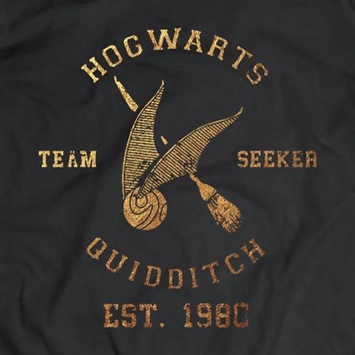 Hogwarts Quidditch Short Sleeve T-Shirt: Seeker