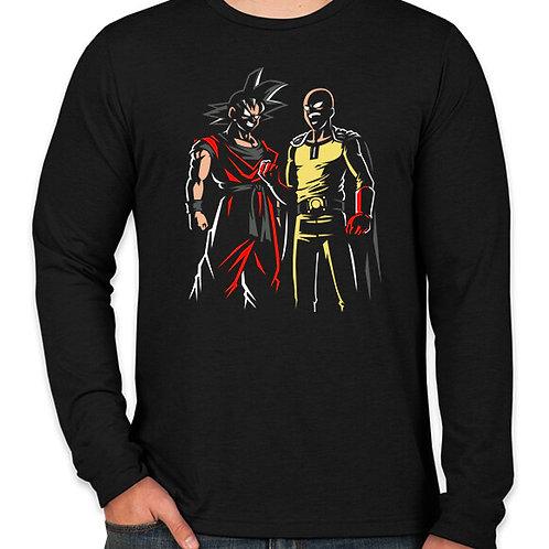 Dragonball / One Punch Man: Champions Long Sleeve T-Shirt