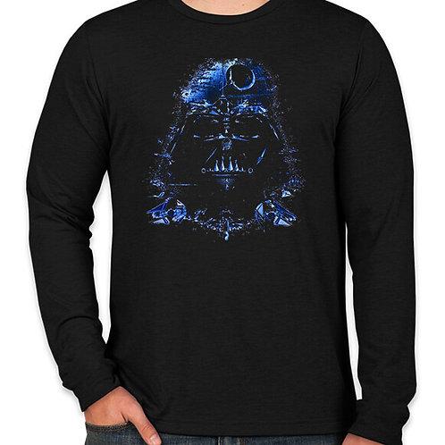 Star Wars Abstract Vader Long Sleeve Long Sleeve T-Shirt