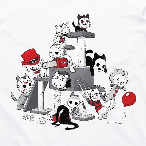 Purrable Horror Friends T-Shirt