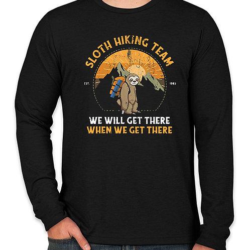 Sloth Hiking Team Long Sleeve T-Shirt