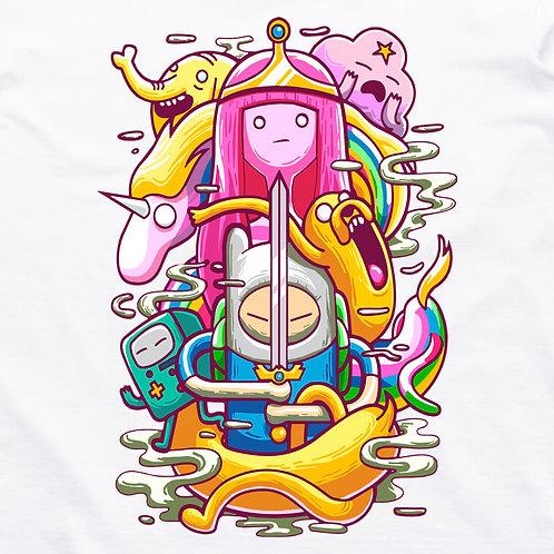 Adventure Time: Princess Bubblegum Short Sleeved T-Shirt