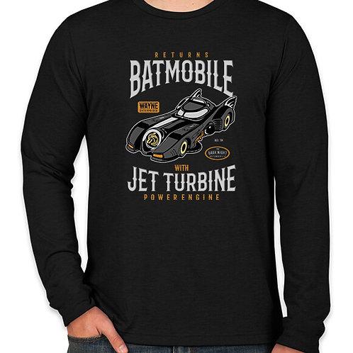 Batman: Batmobile Long Sleeve Long Sleeve T-Shirt