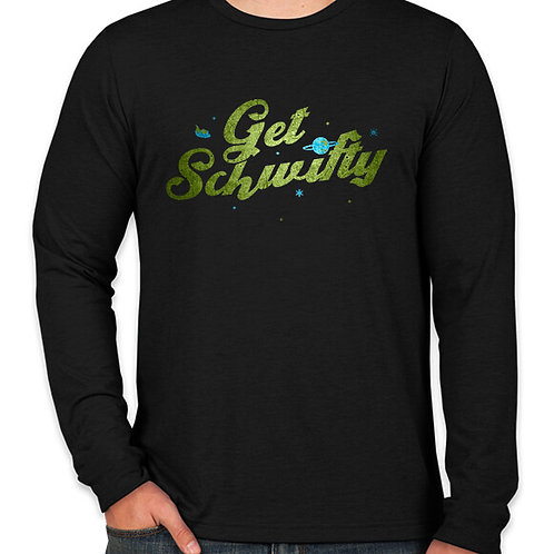 Rick and Morty: Get Schwifty Long Sleeve T-Shirt