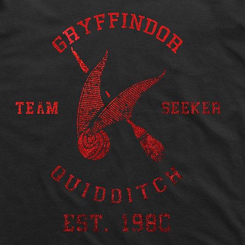 Gryffindor Quidditch Short Sleeve T-Shirt: Seeker