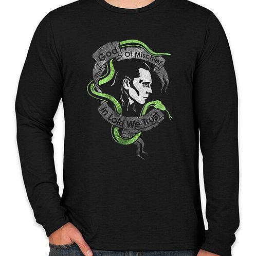 Avengers: Loki God of Mischief Long Sleeve Long Sleeve T-Shirt