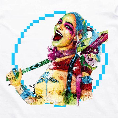Harley Quinn Pixel T-Shirt