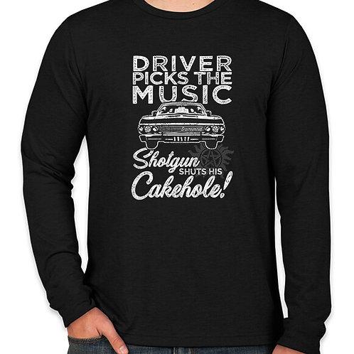 Supernatural: Cakehole Long Sleeve Long Sleeve T-Shirt