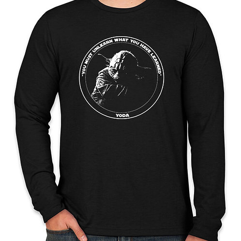Star Wars Master Yoda Long Sleeve Long Sleeve T-Shirt