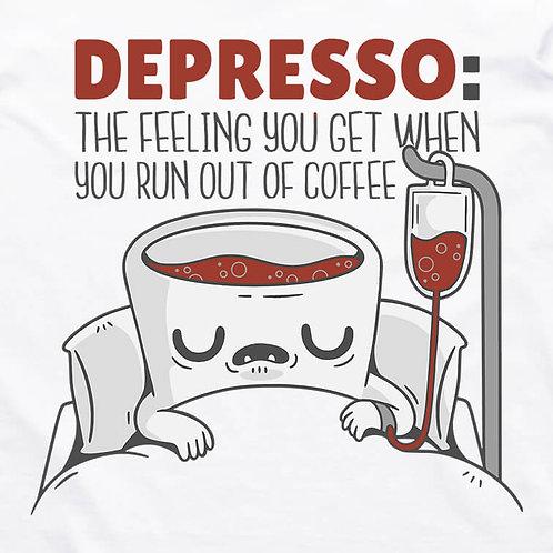 Depresso: Coffee T-Shirt
