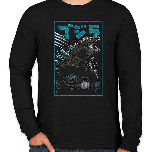Godzilla Long Sleeve Long Sleeve T-Shirt