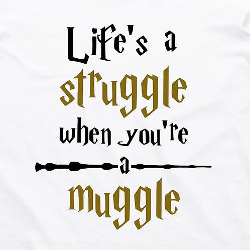 Muggle Struggle Short Sleeve T-Shirt