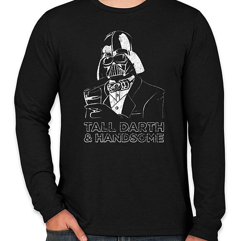 Star Wars Tall Darth and Handsome Long Sleeve Long Sleeve T-Shirt