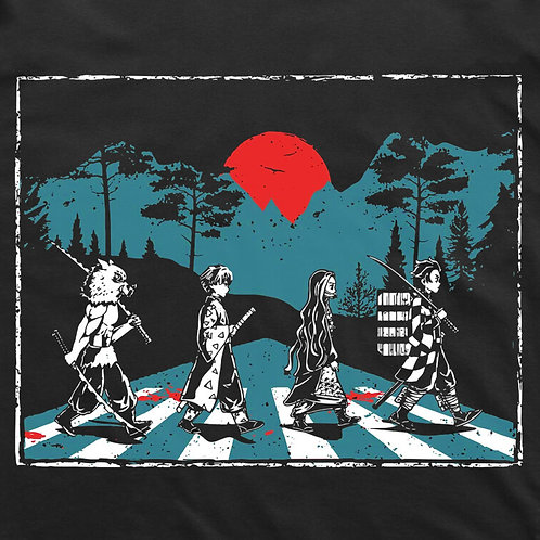 Demon Slayer: Abbey Road T-Shirt