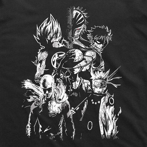 Heroes Short Sleeved T-Shirt