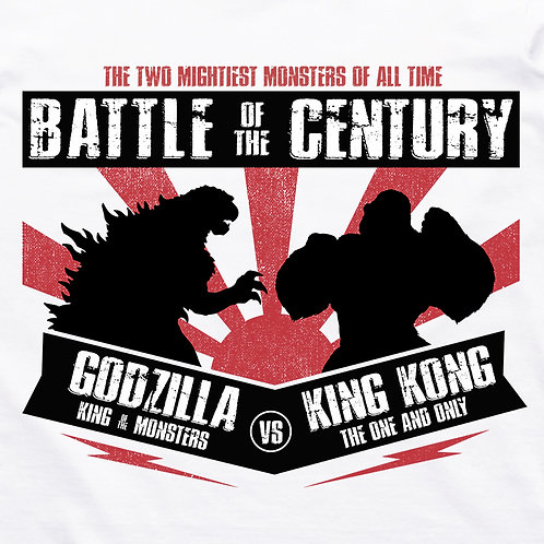 Godzilla VS King Kong Short Sleeve T-Shirt