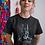 Thumbnail: Batman Rain Short Sleeve T-Shirt