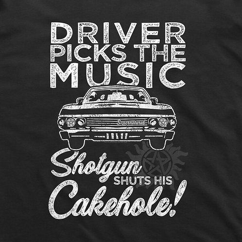 Supernatural: Cakehole T-Shirt
