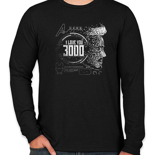 Avengers: I Love You 3000 Long Sleeve Long Sleeve T-Shirt