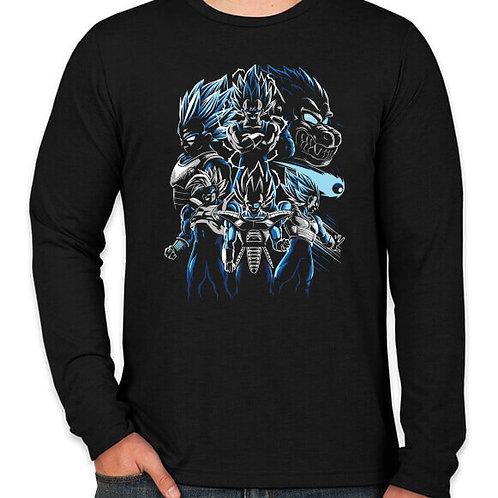 Dragonball: Vegeta Collection Long Sleeved T-Shirt