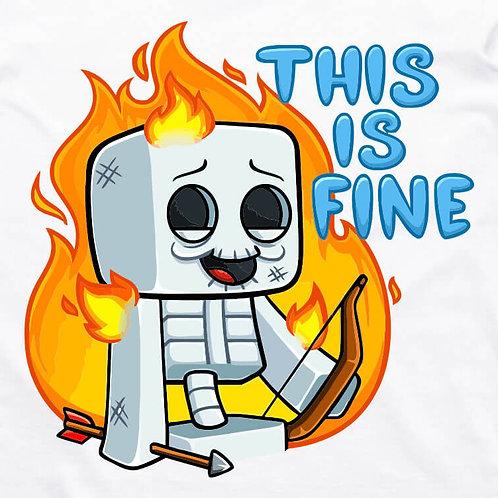 Minecraft: Skeleton Short Sleeve T-Shirt
