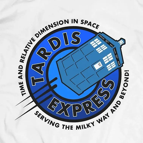 Doctor Who: Tardis Express T-shirt