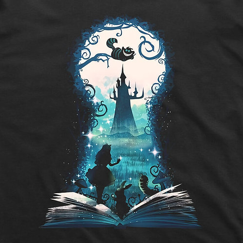 Alice in Wonderland Keyhole T-Shirt