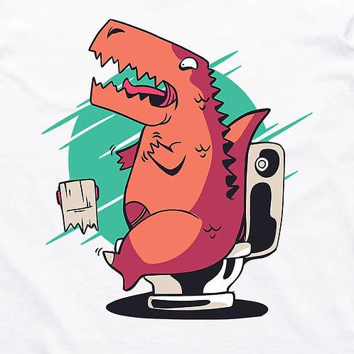 T-Rex Toilet Crisis T-Shirt