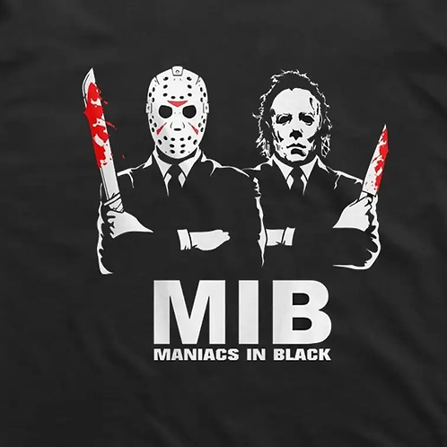 Maniacs In Black T-Shirt