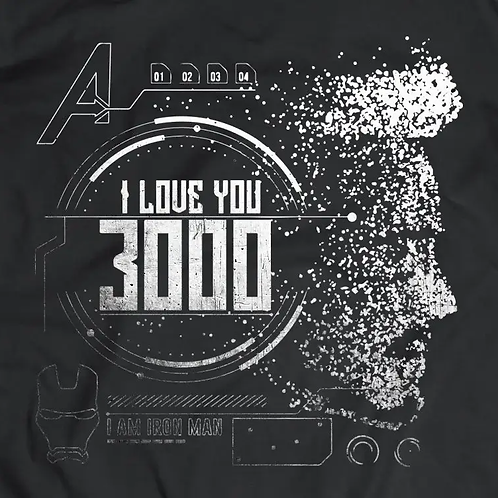 Avengers: I Love You 3000 T-Shirt
