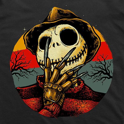 Freddy Skellington Short Sleeved T-Shirt