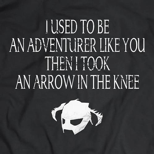 Skyrim: Arrow in the Knee T-Shirt