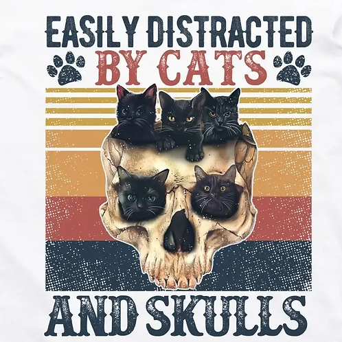 Cats and Skulls T-Shirt